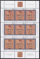 Macedonia, 1998, Gandhi , MNH, Miniature Sheet - Mahatma Gandhi