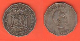Zambia 50 Ngwee 1972 - Zambia