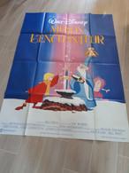 A Saisir-années 90-Lot De 5 Affiches Dessins Animés-enfants-format 120X160cm Pliées- Peter Pan-Tom Jerry-Blanche Neige.. - Posters