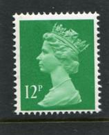 GREAT BRITAIN - 1985  12p  MACHIN  RB  MINT NH  SG X897 - Série 'Machin'