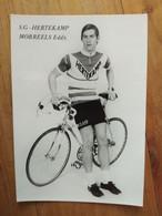 Cyclisme - Carte Publicitaire HERTEKAMP 1972 : MORREELS - Radsport