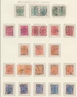 FINLAND USED MICHEL 28 B/31 B K 14:13 WAPPEN - Paketmarken