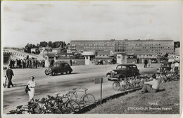 155076 SWEDEN STOCKHOLM BROMMA AIRPORT VIEW PARTIAL AVIATION CIRCULATED TO ARGENTINA POSTAL POSTCARD - Suecia