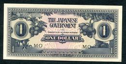 MALAYSIE - OCCUPATION JAPONAISE - ONE DOLLAR 1944 SUPERBE !!! - Malasia