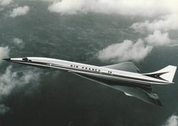 AEROSPATIALE  -BAC CONCORDE  ILLUSTRATION  - Couleurs AIR FRANCE - 1946-....: Modern Tijdperk