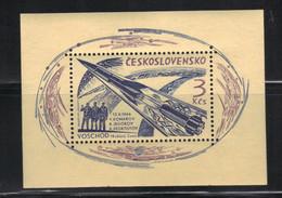 Tchécoslovaquie 1964 Yvert BF 25 Neuf** MNH (AF119) - Blocks & Kleinbögen