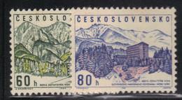 Tchécoslovaquie 1964 Yvert 1325/26 Neufs** MNH (AF120) - Ungebraucht