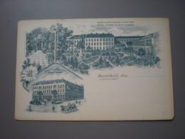 BURTSCHEID - HOTEL WEBER - GRAND HOTEL ROSENBAD - LITHO - Aken