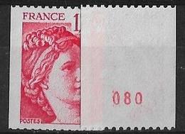 SABINE De GANDON ROULETTE N° 1981a** MNH - 1977-81 Sabine (Gandon)