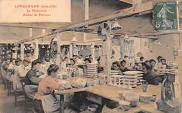 21- CPA LONGCHAMP La Faiencerie Atelier De Peinture - Sonstige Gemeinden
