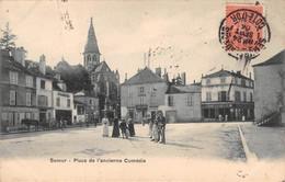 21- CPA SEMUR EN AUXOIS Place De L'ancienne Comédie - Semur