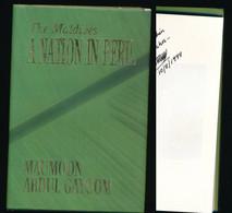 The Maldives A Nation In Péril - Dédicace  Signature Autographe Auteur Maumoon Abdul Gayoom - Asie