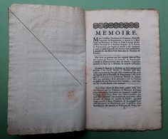 1747  PROCES VAN ADEL    TE LEZEN     ZIE SCANS - Documenti Storici