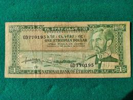 1 Dollars 1966 - Ethiopia