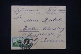 U.R.S.S. - Affranchissement Esperanto Sur Enveloppe En 1928 Pour Berlin  - L 91664 - Brieven En Documenten