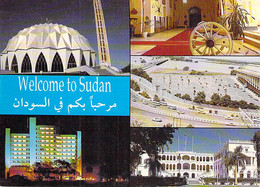 SOUDAN Sudan : Multivues ( Mosquée Palace Hotel Presidential Palace ) CPM GF - Afrique Noire Black Africa - Soedan Sudão - Sudan