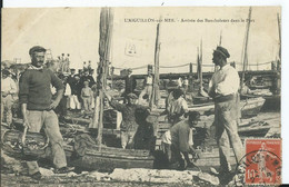 L'AIGUILLON SUR MER - Arrivée Des Boucholeurs Dans Le Port - Other Municipalities