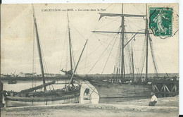 L'AIGUILLON SUR MER - Goëlettes Dans Le Port - Other Municipalities
