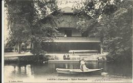 JARNAC ( Charente ) , Sport Nautique , 1907 , CPA ANIMEE - Jarnac