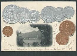 Bresil. Baïa San Salvador Avec Pièces De Monnaies , Coïns, Moedas, Monedas - Other