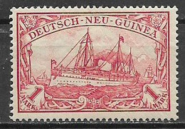 GERMANIA REICH 1900  COLONIA TEDESCA NUOVA GUINEA SOPRASTAMPATI YVERT. 16  MNH XF - Kolonie: Deutsch-Neuguinea