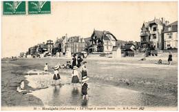 14 HOULGATE - La Plage à Marée Basse - Houlgate