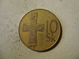 MONNAIE SLOVAQUIE 10 KORUNA 1994 - Slovakia