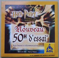 - Pochette CD ROM De Connexion Internet - AOL - Harry Potter - - Kit Di Connessione A  Internet