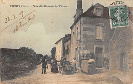 89-  CPA THORY Vue Du Bureau De Tabac - Sonstige Gemeinden