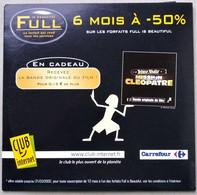- Pochette CD ROM De Connexion Internet - FULL IS BEAUTIFUL - CLUB INTERNET - Astérix Et Obélix - Carrefour - - Kit Di Connessione A  Internet