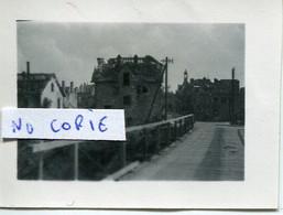 Ardennes. ATTIGNY. 1940. Pont Provisoire Sur L'Aisne - 1939-45