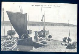 Cpa Du 29  Rivière Du Pont Aven La Cale De Port Manec -- Retour De Pêche   NOV20-75 - Pont Aven