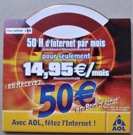 - Pochette CD ROM De Connexion Internet - AOL - Carrefour - - Kit Di Connessione A  Internet