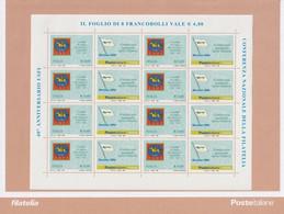 Repubblica - Italia  2006 - Conferenza Nazionale Della Filatelia 40° Anniversario USFI - - Hojas Bloque