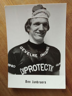 Cyclisme - Carte Publicitaire DIPROTECTION : Ben JANBROERS - Cycling