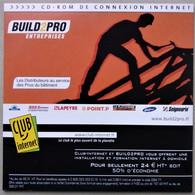 - Pochette CD ROM De Connexion Internet  - CLUB INTERNET - BUILD2PRO - - Kit Di Connessione A  Internet
