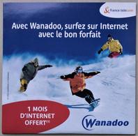 - Pochette CD ROM De Connexion Internet - WANADOO - - Kit Di Connessione A  Internet