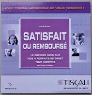 - Pochette CD ROM De Connexion Internet - TISCALI - - Kit Di Connessione A  Internet
