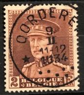 Albert I Helm OBP321 * OORDEREN * - 1931-1934 Mütze (Képi)