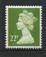 GREAT BRITAIN - 1988  22p  MACHIN  2B  QUESTA  EX PRESTIGE BOOKLET  MINT NH  SG X1015 - Série 'Machin'