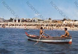 CARTOLINA  LOCRI,REGGIO CALABRIA,CALABRIA,LIDO,BARCHE A VELA,SOLE,SPIAGGIA,VACANZA,BELLA ITALIA,ESTATE,VIAGGIATA 1970 - Reggio Calabria
