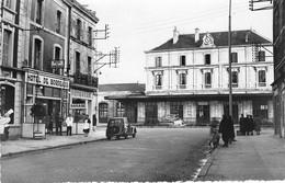 79  - CPSM Photo NIORT L'hotel De Bordeaux Et La Gare - Niort
