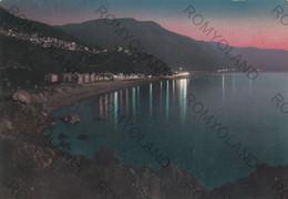CARTOLINA  BAGNARA CALABRA,REGGIO CALABRIA,CALABRIA,NOTTURNO,LA COSTA VIOLA,VACANZA,BELLA ITALIA,ESTATE,VIAGGIATA 1978 - Reggio Calabria