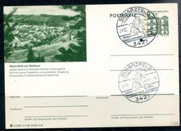 REPUBLIQUE FEDERALE ALLEMANDE - Ganzsache Michel P86 - A11/82 - SCHARZFELD - Illustrated Postcards - Used