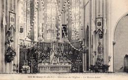 Saint Quay Portrieux - Intérieur De L ' église - Le Maître Autel - Saint-Quay-Portrieux