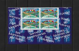 NOUVELLE CALEDONIE (New Caledonia) - Coin Daté - YT 1111 - 2010 -sport -jeux Du Pacifique- Pacific Games- Flag - Drapeau - Sin Clasificación