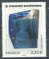 FRANCIA 2020 - Mohamed Bourquissa - Cachet Rond - Gebruikt