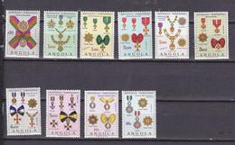 ANGOLA 541/550 DECORATIONS LUXE NEUF SANS CHARNIERE MNH - Angola