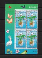 NOUVELLE CALEDONIE (New Caledonia) - Coin Daté - YT 1117 - 2010 - Année De La Biodiversité - Biodiversity - Fish - Bird - Sin Clasificación