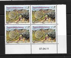NOUVELLE CALEDONIE (New Caledonia) - Coin Daté- YT 1127 - 2011- Sport  Transcalédonienne Randonnée Médaille - Medal - Sin Clasificación